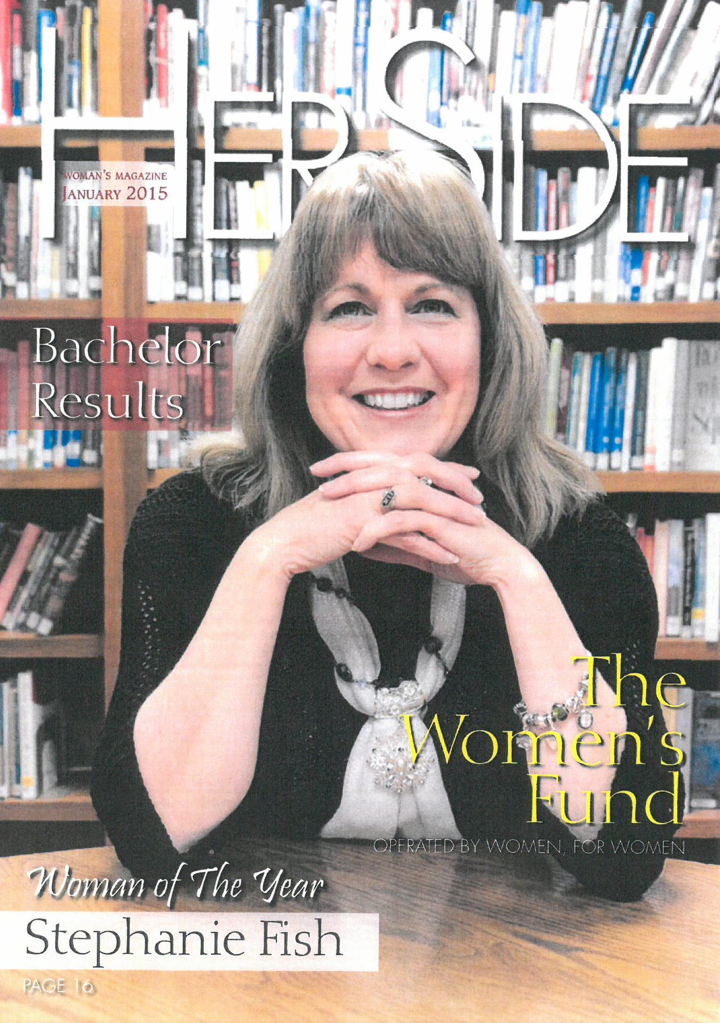 Her Side Woman's Magazine Cover Jan 2015