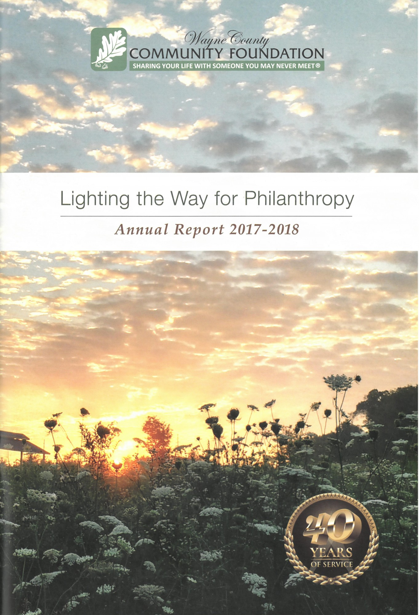 WCCF 2017-2018 Annual Report